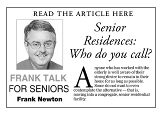 """Senior Residences: Who do you call?"""