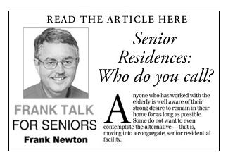 """""""Senior Residences: Who do you call?"""""""